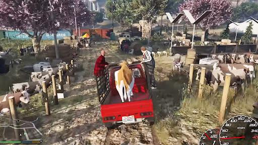 Animal Cargo Truck Transport: Animal Loading Game Apkfinish screenshots 4