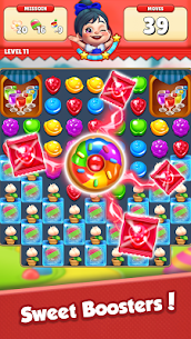 Sugar Hunter: Match 3 Puzzle Apk Mod + OBB/Data for Android. 5