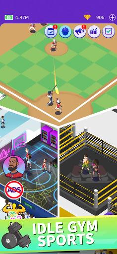 Idle GYM Sports - Fitness Workout Simulator Game 1.39 screenshots 5