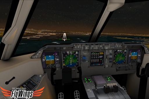Flight Simulator Night - Fly Over New York NY 1.0.1 screenshots 2
