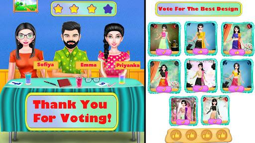 Superstar Fashion Stylist Dress up - Girl Game 1.0.8 screenshots 1
