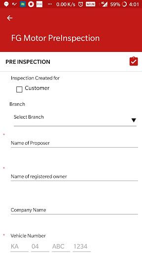 Motor Vehicle Inspection app  screenshots 4
