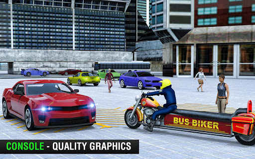 Bus Bike Taxi Driver u2013 Transport Driving Simulator  screenshots 13