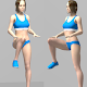 Knee Up and Down, workout app for diet para PC Windows