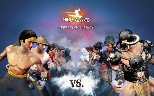 Ninja Games Fighting - Combat Kung Fu Karate Fight apkpoly screenshots 5
