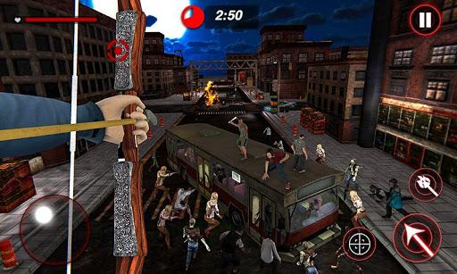 Archer Hunting Zombie City Last Battle 3D modavailable screenshots 3