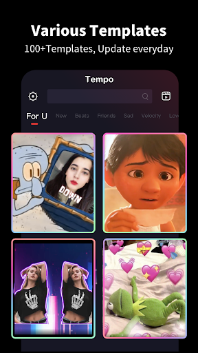 Download APK: Tempo – Music Video Editor with Effects v2.2.7 [Pro]