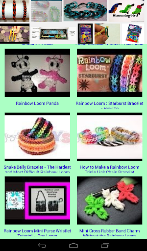 Rubber Band Loom Designs For PC Windows (7, 8, 10, 10X) & Mac Computer Image Number- 12