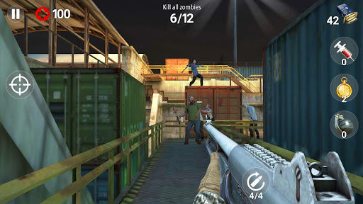 Dead Fire: Zombie shooting apktram screenshots 2