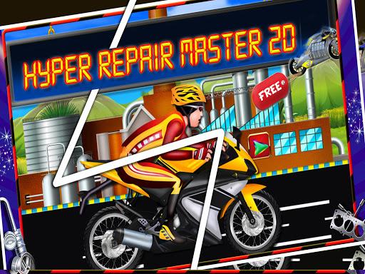 Repair Master 2D: Bike Mechanic Simulator Game  apktcs 1