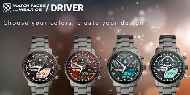 Driver Watch Face v1.21.03.1018 (Paid) 2