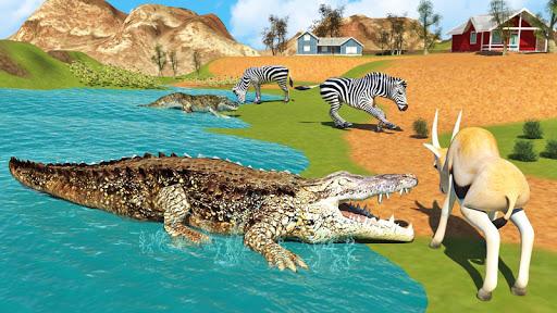 Hungry Crocodile Wild Hunt Simulation Game 8.3 screenshots 4