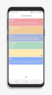PastelNote - Notepad, Notes Screenshot