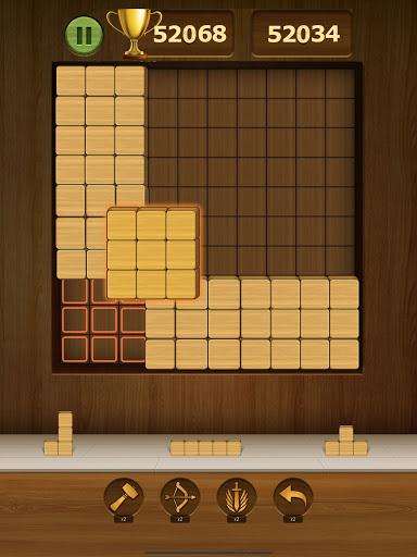 Wood Block Puzzle 2021 - Wooden 3D Cube Puzzle Gem goodtube screenshots 13