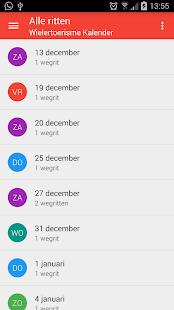 Wielertoerisme kalender 4.3.4c screenshots {n} 1