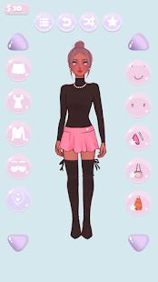 かわいいファッションスタイリストのドレスアップゲーム