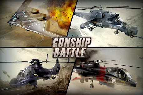 GUNSHIP BATTLE: Helicopter 3D MOD APK (All Unlocked) – Updated 2021 1