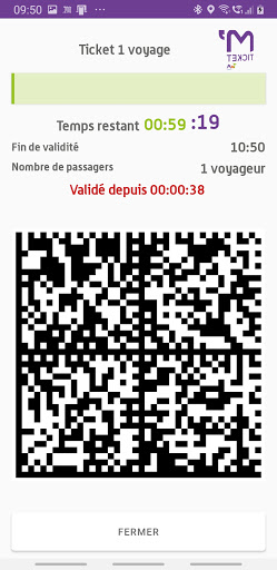 M'Ticket - TaM mobile ticket android2mod screenshots 5