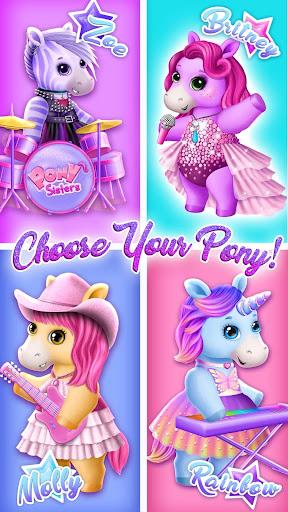 Pony Sisters Pop Music Band - Play, Sing & Design 6.0.24419 Screenshots 2