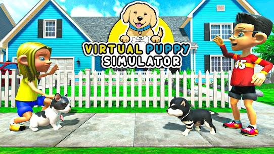 Virtual Puppy Dog Simulator: Cute Pet Games 2021 1