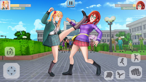 High School Bully Gang: Karate Fighting Game  screenshots 4