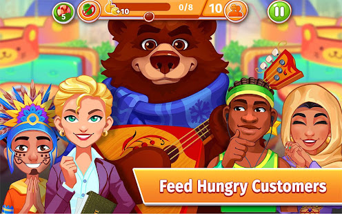 Cooking Craze: The Global Kitchen Cooking Game