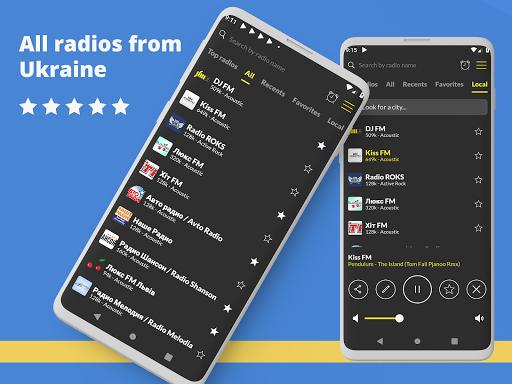 radio ukraine: free fm radio online screenshot 1