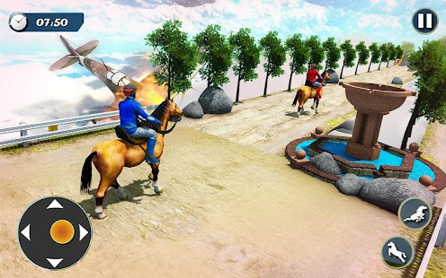 GT Horse Mega Ramp Parkour: Free Animal Stunt Game Screenshot