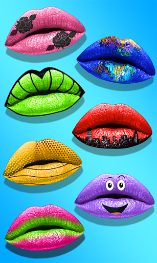 Lips Done! Satisfying 3D Lip Art ASMR Game apkmr screenshots 7