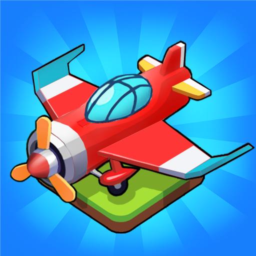 Merge Airplane 2: Plane & Clicker Tycoon