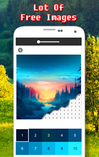 Landscape Coloring Book - Color By Number  screenshots 6