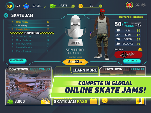 Skate Jam - Pro Skateboarding 1.2.6 screenshots 6