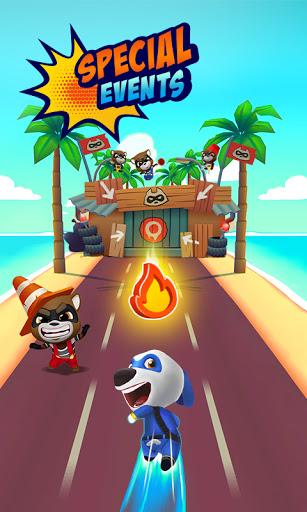 Code Triche Talking Tom Hero Dash (Astuce) APK MOD screenshots 5