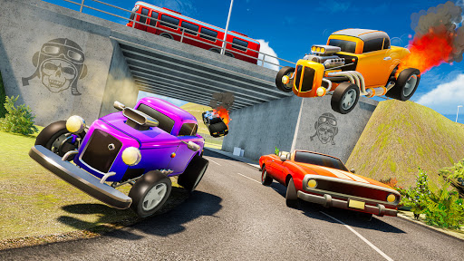 Mini Car Games: Police Chase  screenshots 14