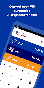 Currency Converter - CoinCalc Screenshot