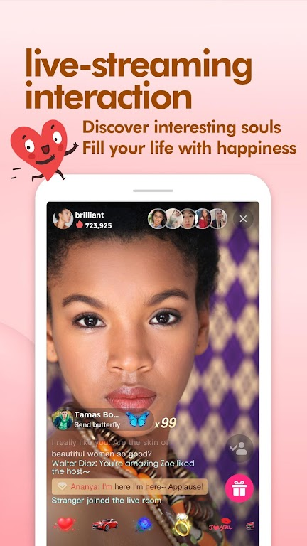Lamour-Live Random Video Chat  poster 1
