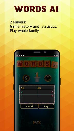 Word Games AI (Free offline games)  screenshots 3