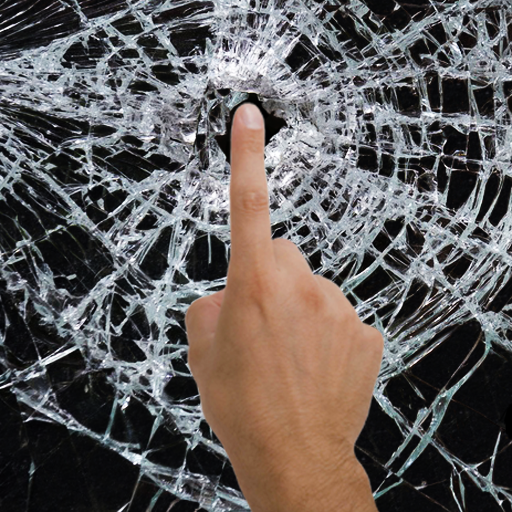 Broken Glass live wallpaper & prank app