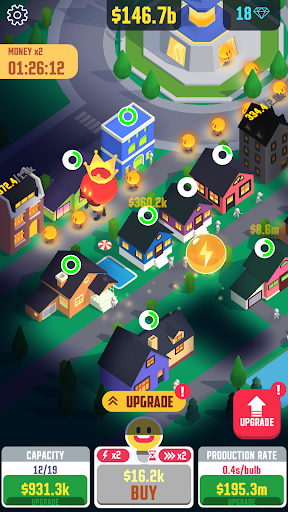 Idle Light City 2.6.4 screenshots 3