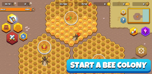 Pocket Bees: Colony Simulator 0.0027 screenshots 1