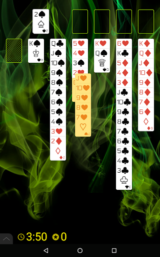 Spider Solitaire (Web rules)  screenshots 19