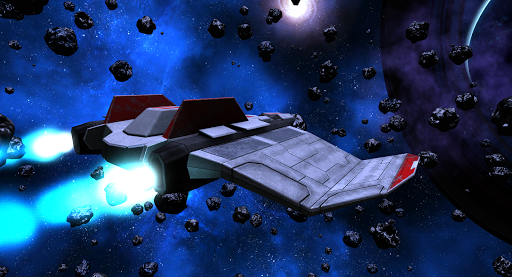 VR Space Spaceship Virtual Reality Roller Coaster  screenshots 4