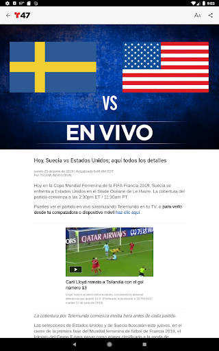 Telemundo 47 6.13 screenshots 6