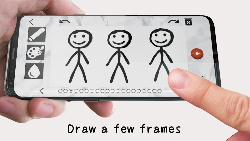 Stickman: draw animation, creator & maker, drawing  poster 7
