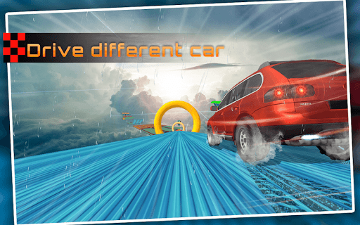 Racing Stunts in Car 3D: Mega Ramp Crazy Car Games  screenshots 9