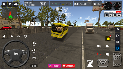 Vietnam Bus Simulator 2.2 screenshots 6