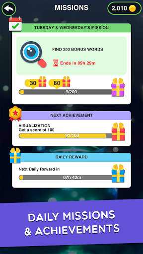 Magnetic Words - Search & Connect Word Game  screenshots 5