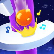 Jump Ball : EDM Helix Tiles!