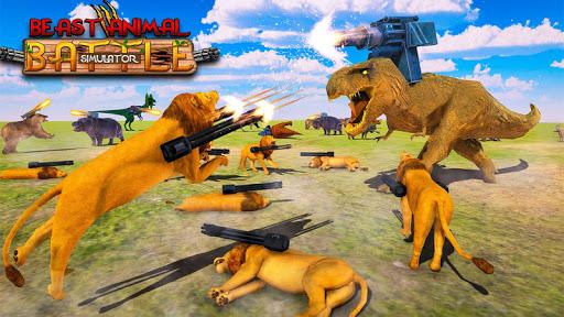 Beast Animals Kingdom Battle: Dinosaur Games 2.6 screenshots 8