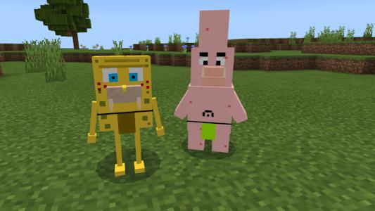 🍍 MCPE Sponge Mod 2.0.1